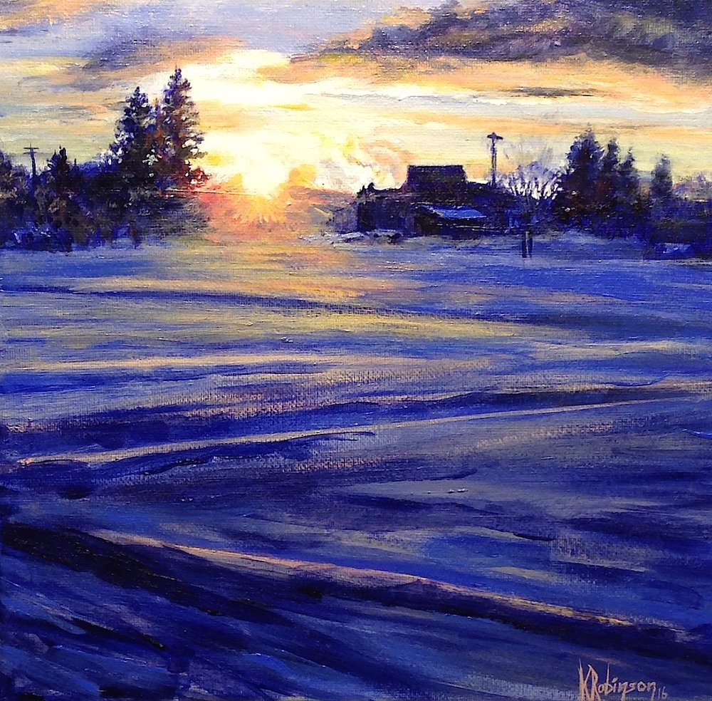 Last Light (Winter in Sandpoint)