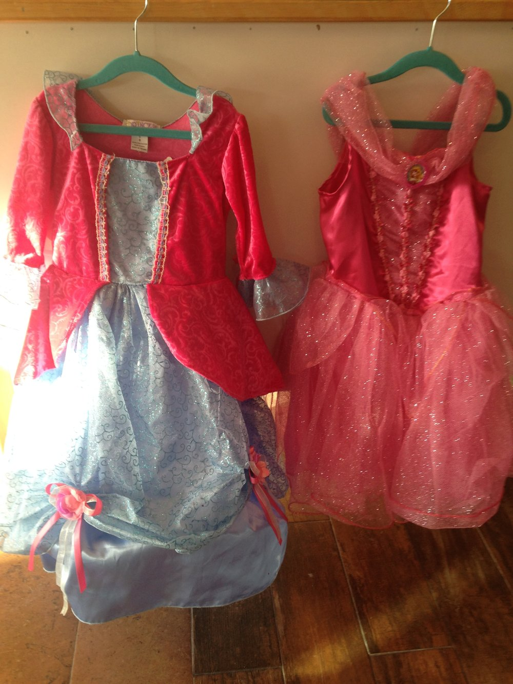 Princess dresses currently at junebug