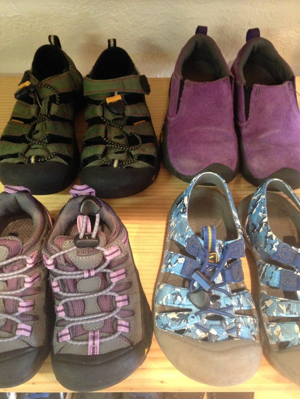KEEN sandals currently at junebug.