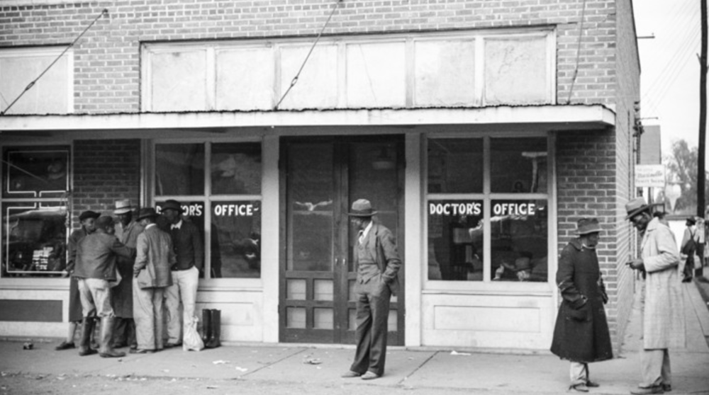 A doctor's office in Merigold, Mississippi in 1939MARION POST WOLCOTT / LIBRARY OF CONGRESS