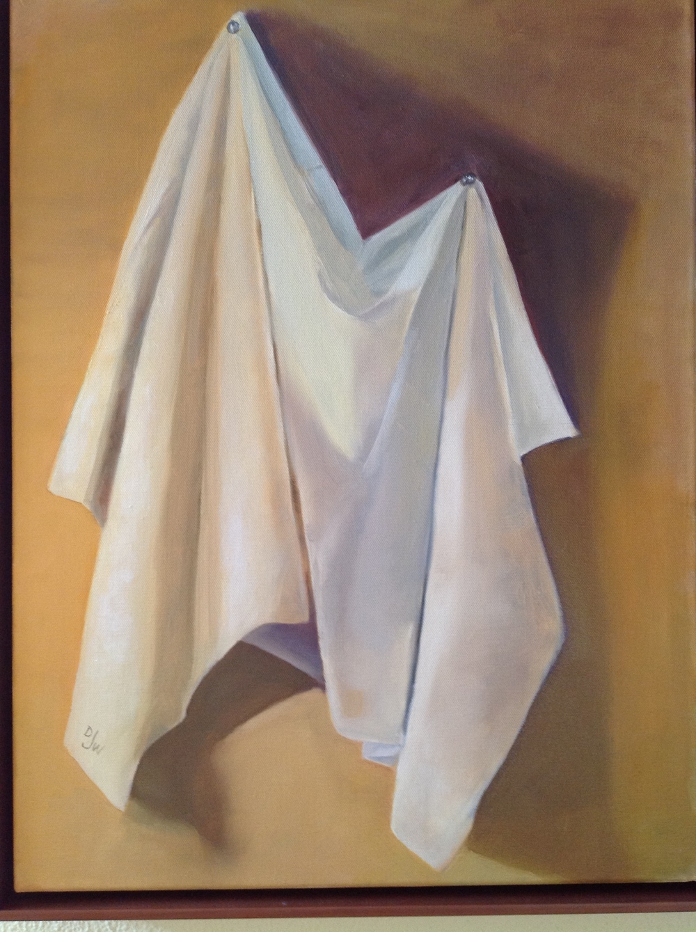 Study of White Cloth