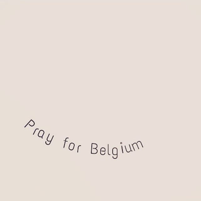 Our hearts are with #Brussels today, we send our love and support to all affected.  Stand strong. #peace #love