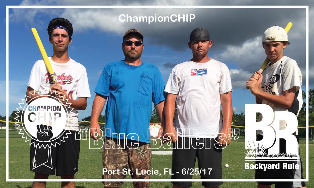 """Blue Ballers"" Port St. Lucie, FL - 6/25/17"