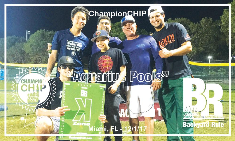 """""""Aquarius Pools"""" - Miami, FL - 12/1/17"""