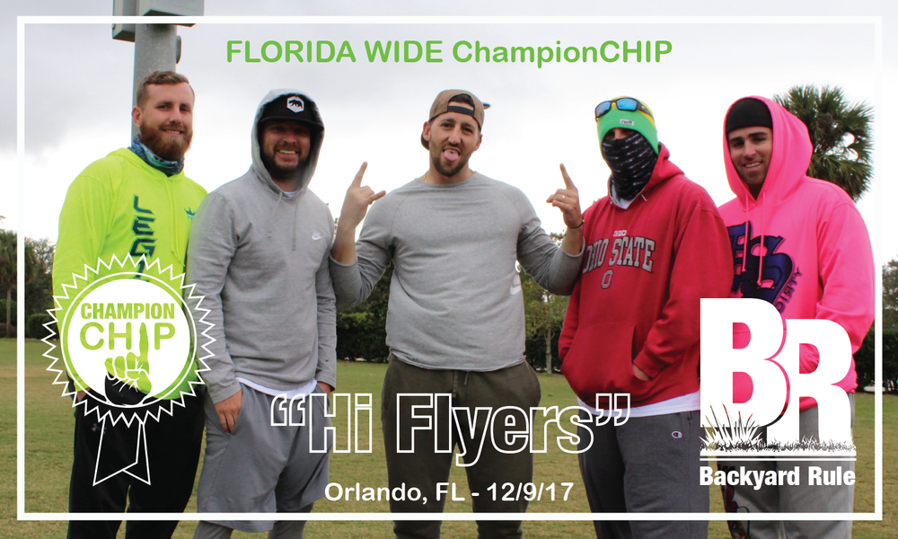 "The 2017 FLORIDA WIDE Champs are ""Hi Flyers"" - Orlando, FL - 12/9/17"