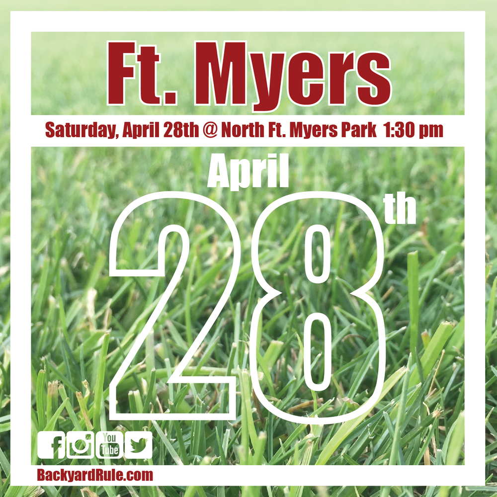 Next Ft. Myers Event: 4/28/18