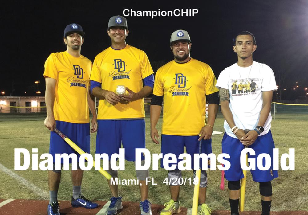 Diamond Dreams Gold   Miami, FL 4/20/18