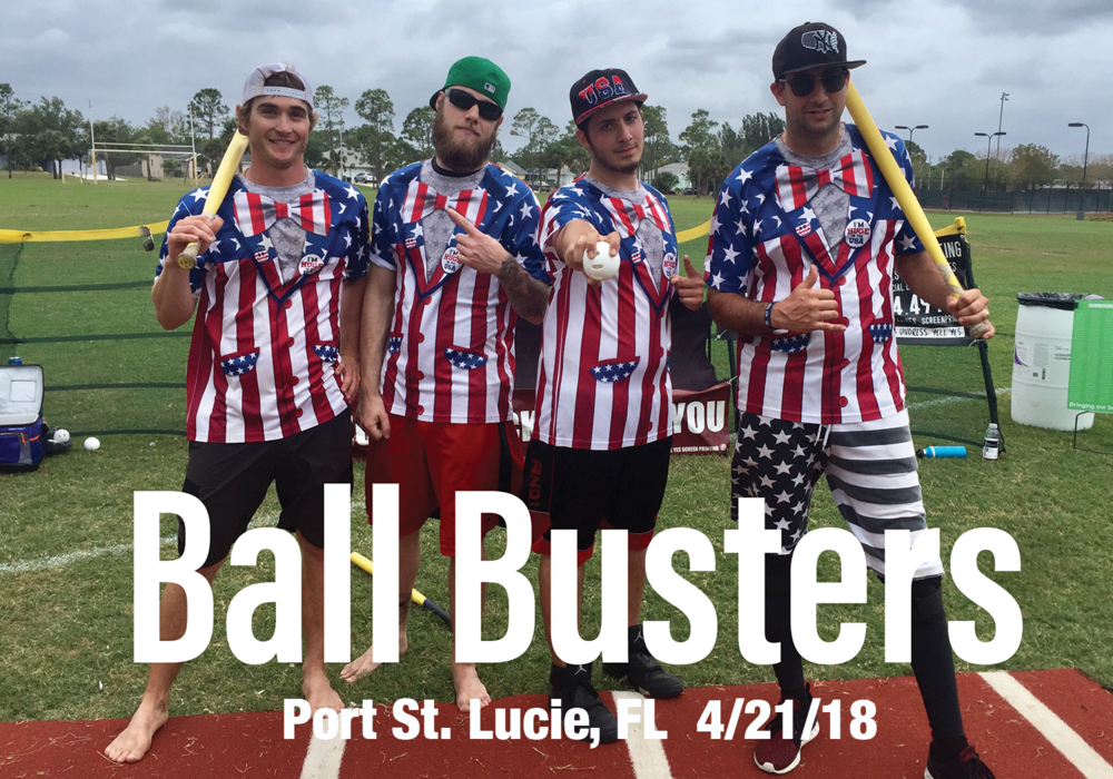 Ball Busters  Port St. Lucie, FL 4/21/18