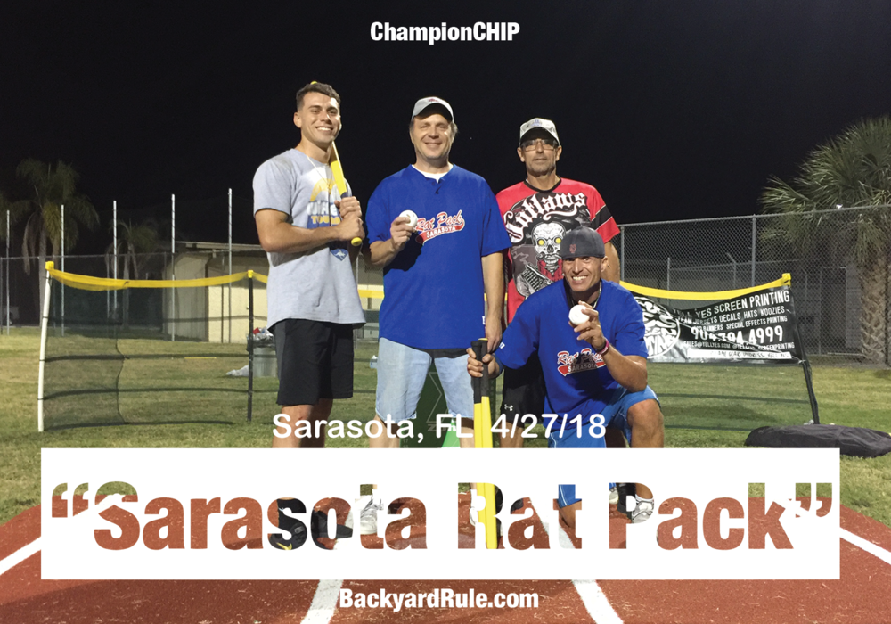 "The defending champs of Sarasota is ""The Sarasota Rat Pack"""