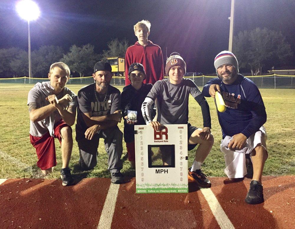 Balls Deep: Stevie Demonico, Steve Demonico, Brendan Demonico, Wayne Baine, Skylar Baine