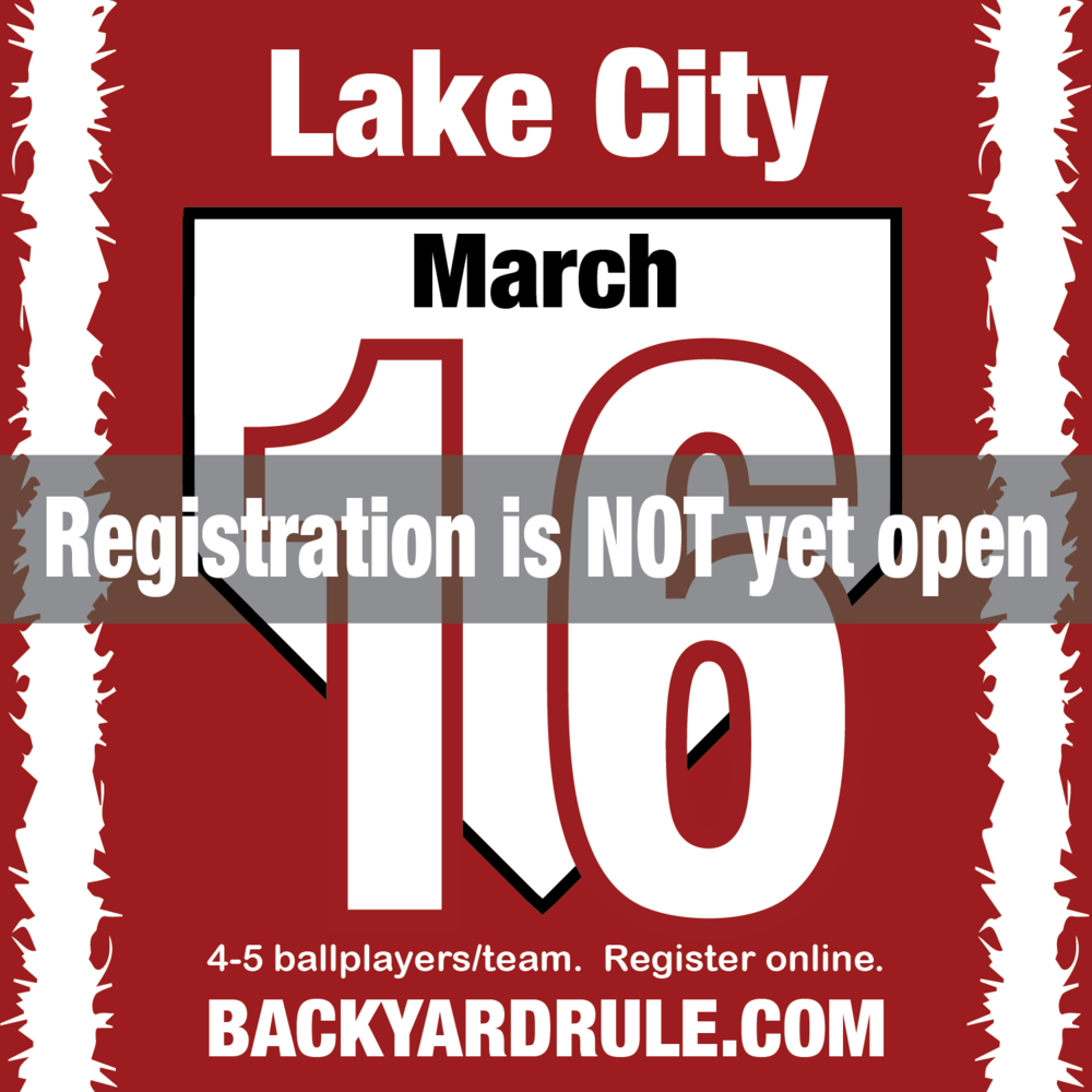 Registration opens one month before the event date.