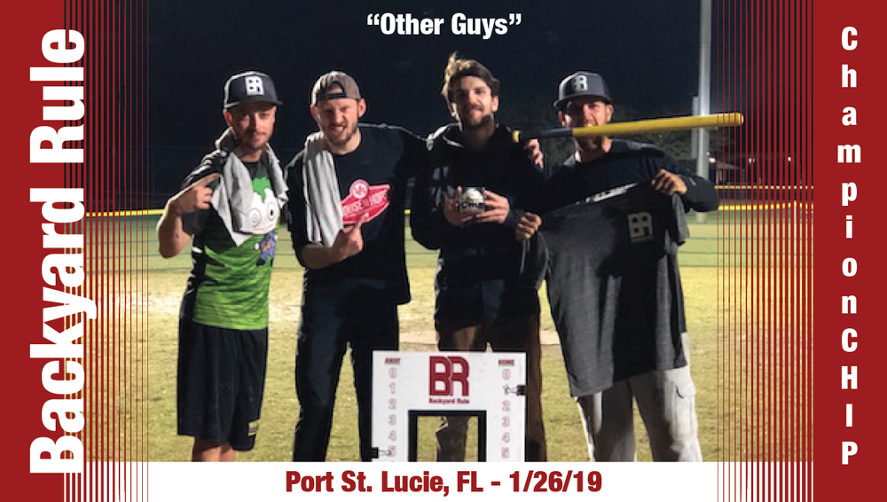 "DEFENDING PSL CHAMPS - ""The Other Guys"" - 1/26/19"