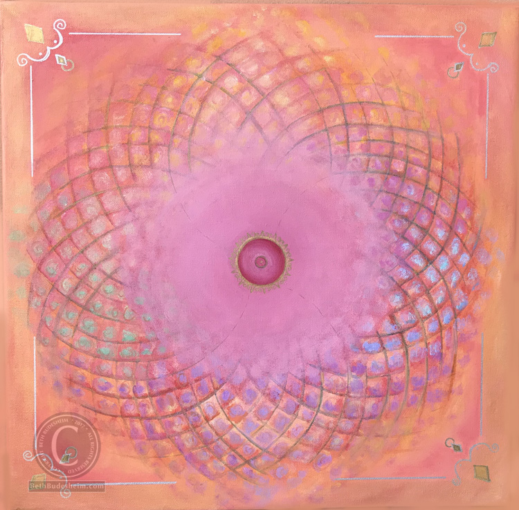 Breast Health Healing Mandala