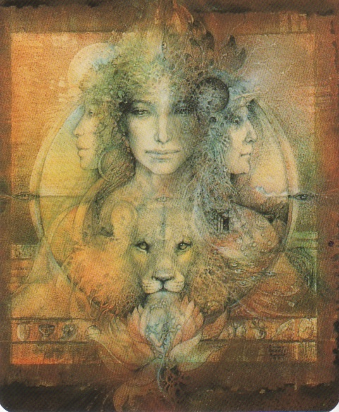 Triple Goddess by Susan Seddon Boulet