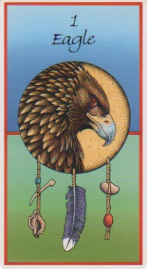 Eagle- from the Medicine Cards deck by Jamie Sams and David Carson