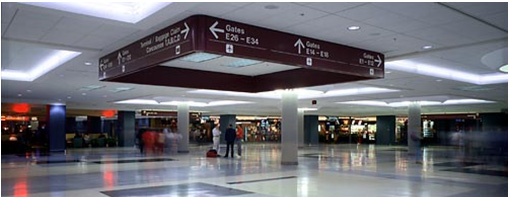 Hartsfield-Jackson International Airport Restrooms Project by TDG Member Matrix 3D