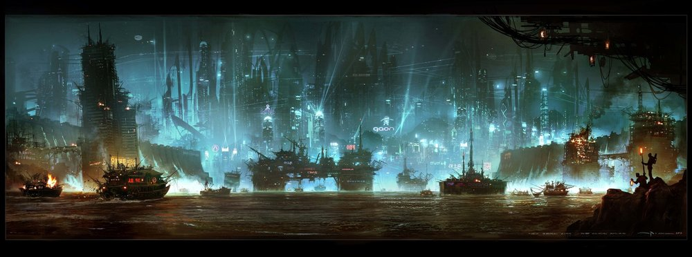 "Environment concept from ""Cloud Atlas."""