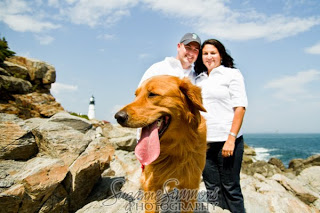 Portland Headlight Fort Williams Engagement Portraits