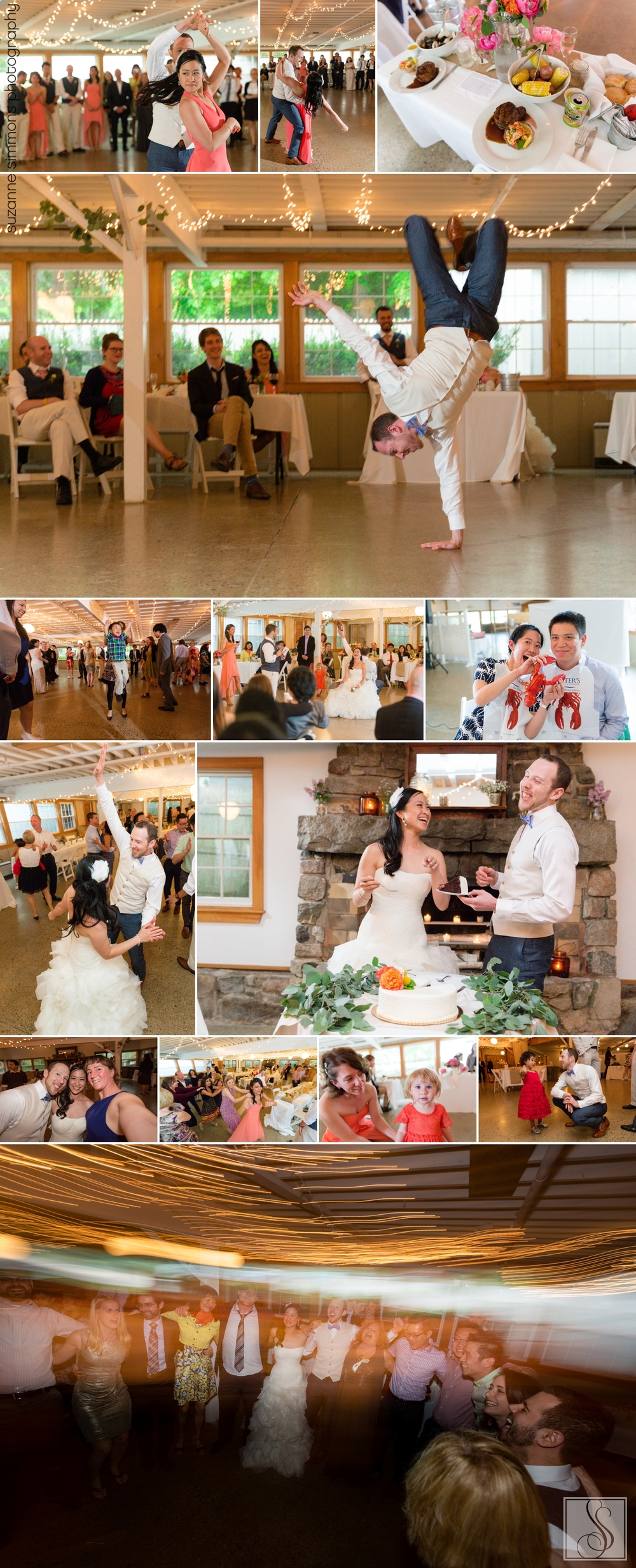 York Maine Wedding Reception