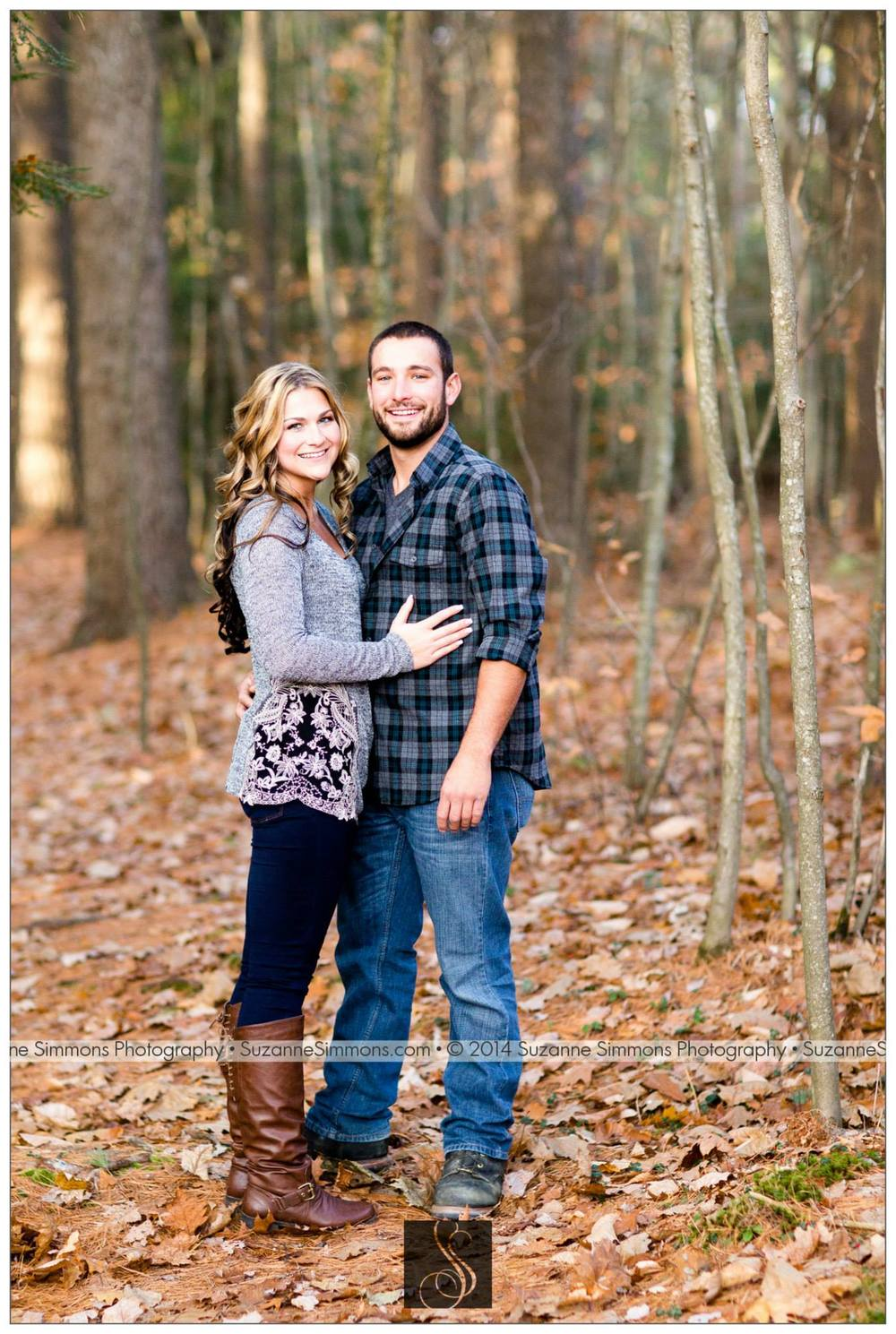 Pineland Farms Maine Engagement Portraits