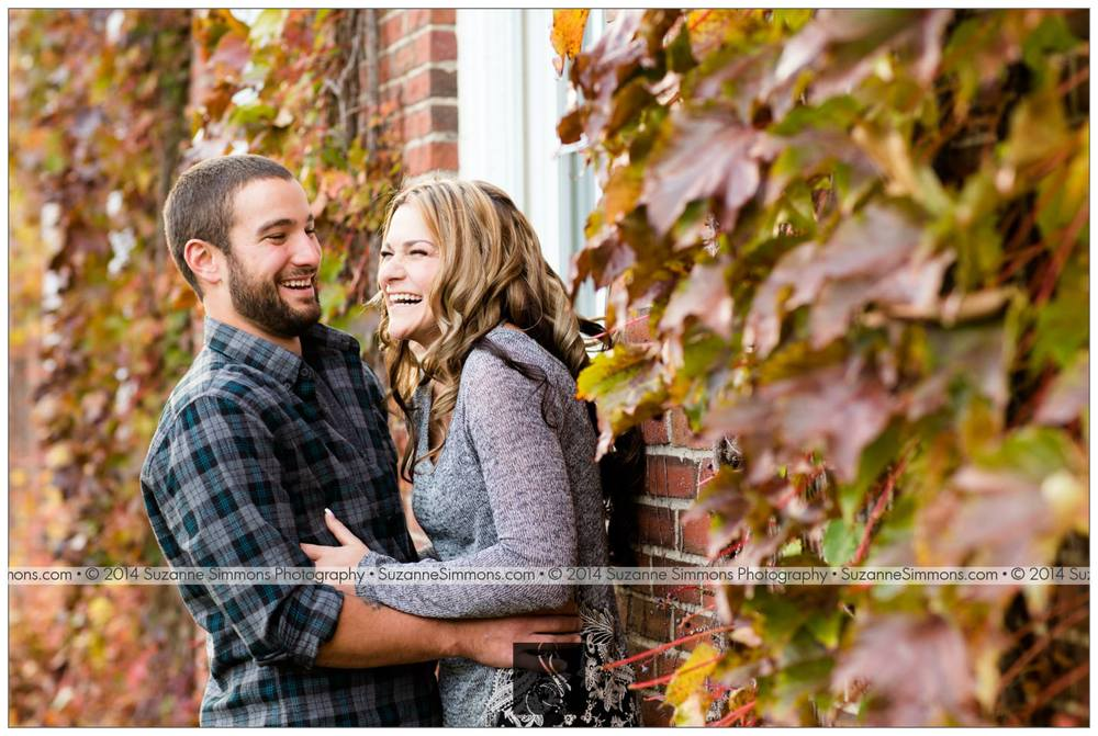 Pineland Farms Engagement Portraits
