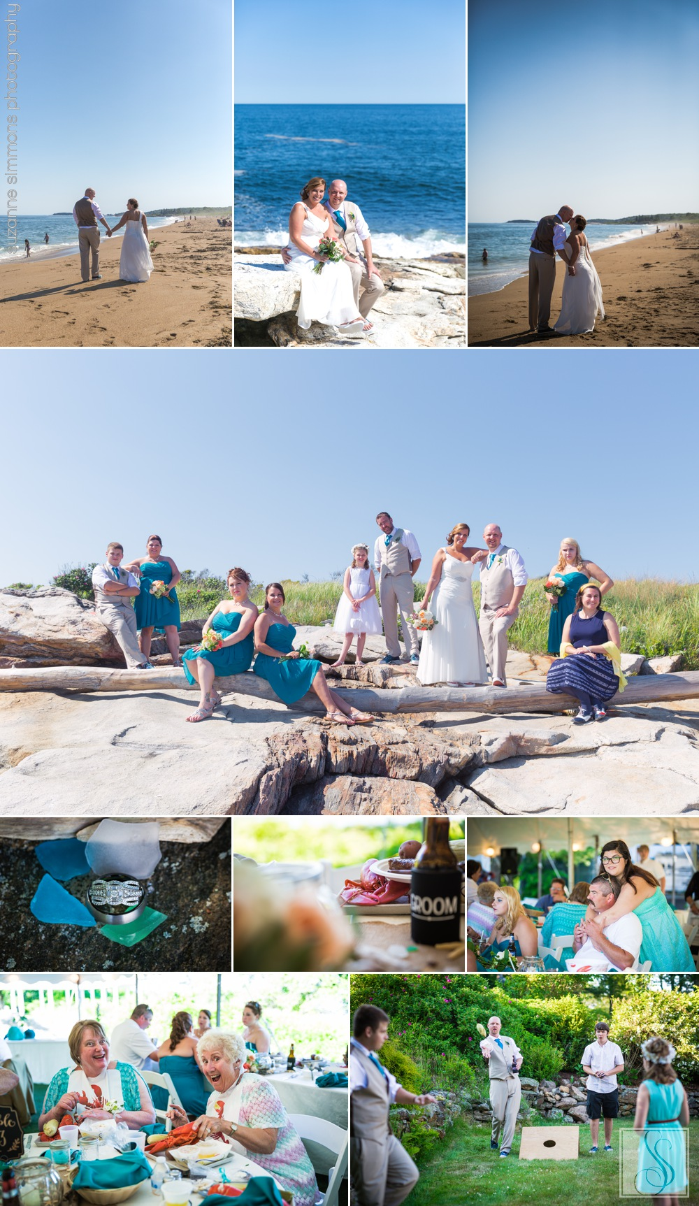 Reid State Park Wedding in Maine