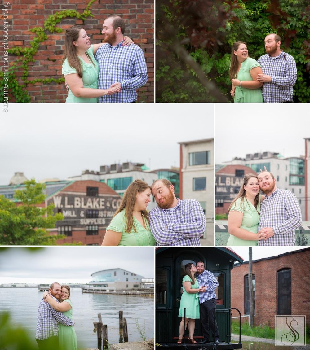 Ocean Gateway Wedding Engagement Portraits