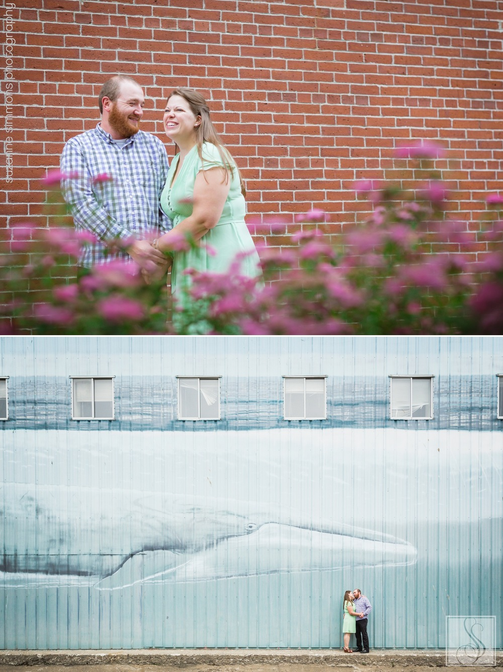 Old Port Maine Engagement Session
