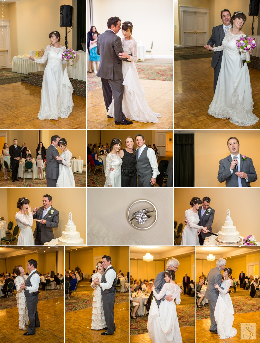 Spring wedding at the Westford Regency Inn