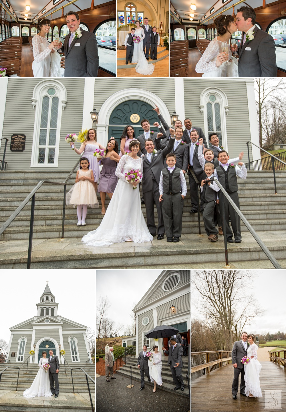 Old North Bridge Historic Park wedding