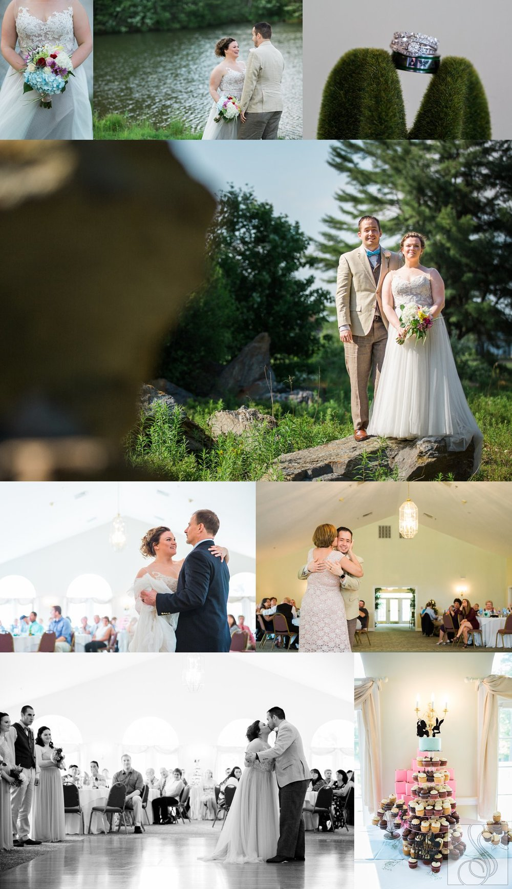Wedding portraits at Dunegrass Golf Club