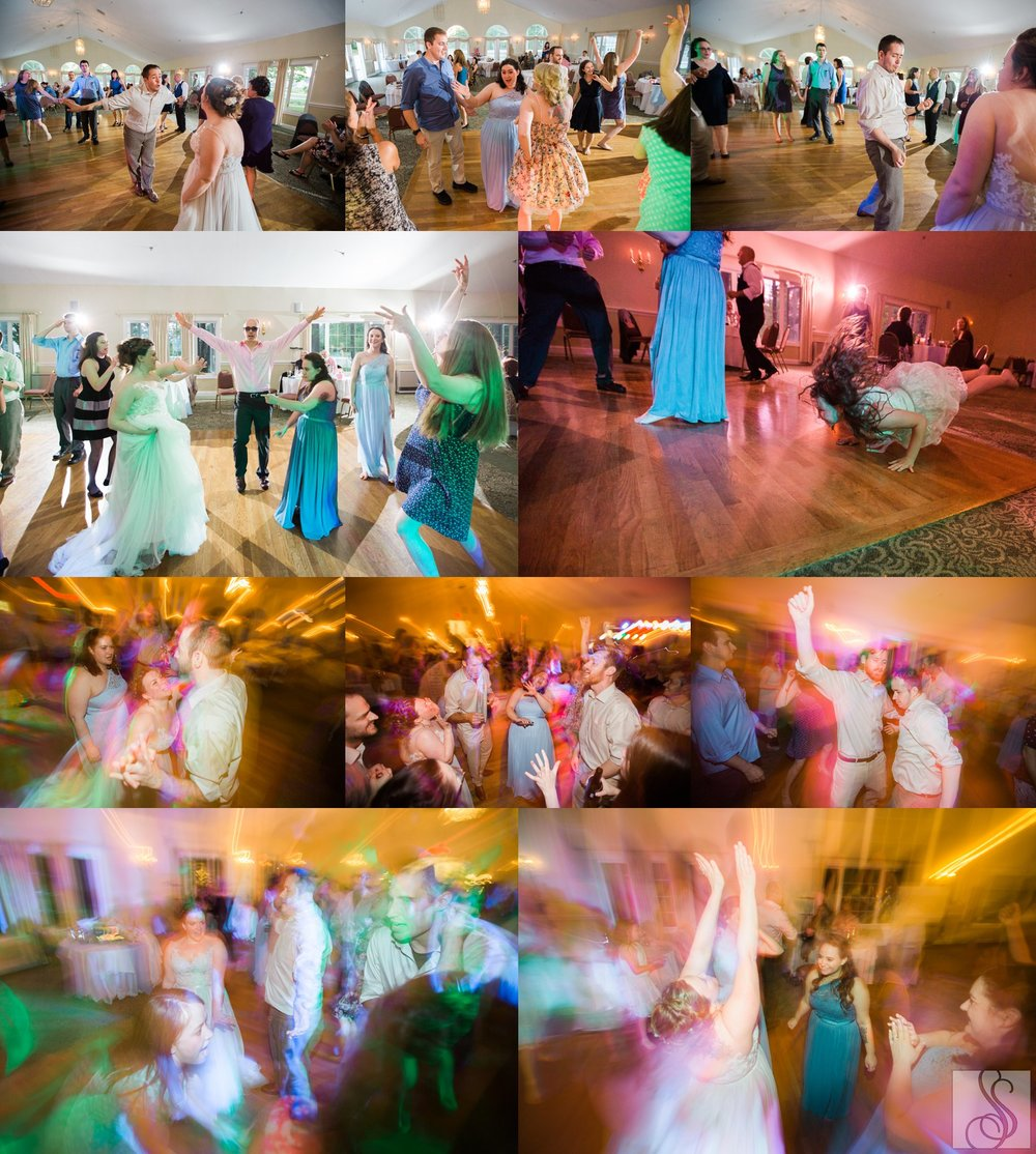 Epic wedding reception at Dunegrass Golf Club