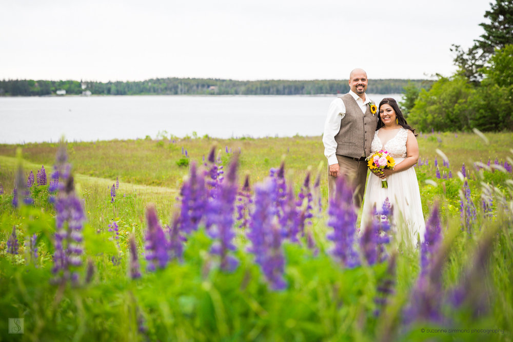 Spring Wedding in Southwest Harbor, Maine