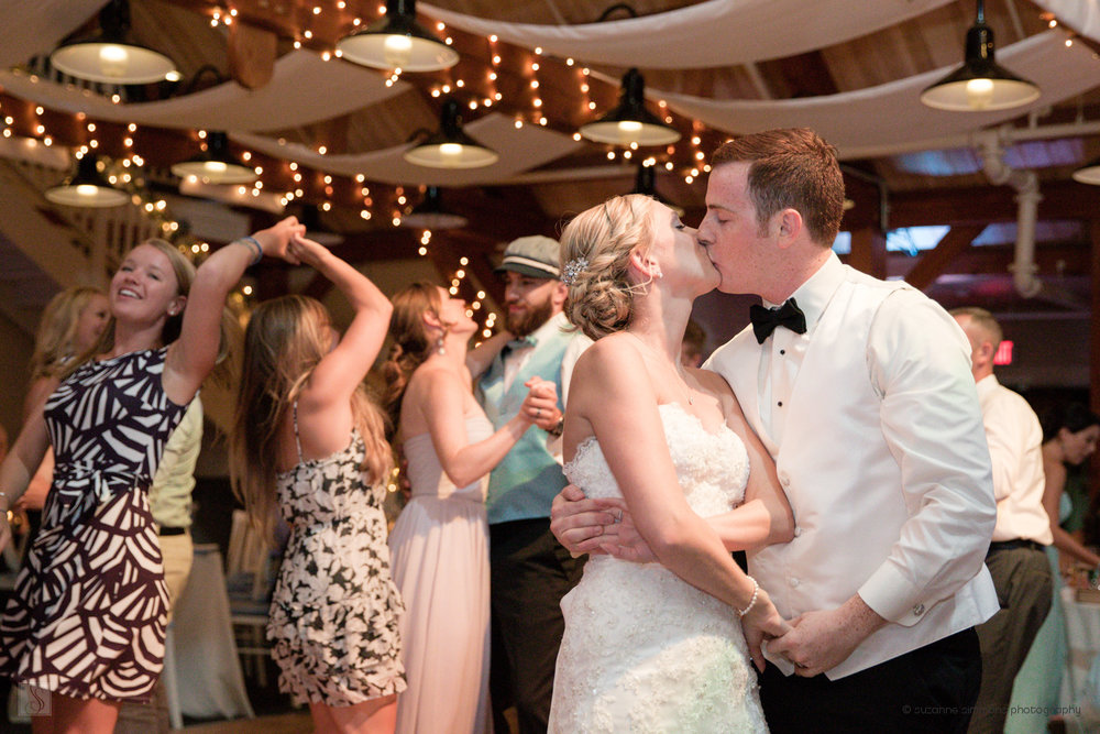 A Spin & A Kiss as Newlyweds
