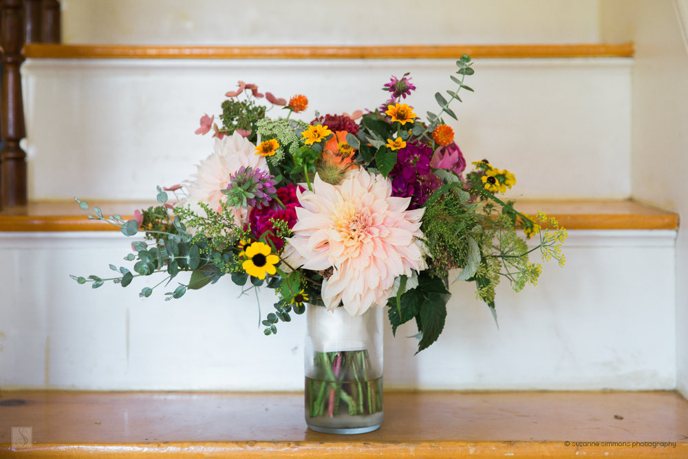 Bridal Bouquet from Broadturn Farm