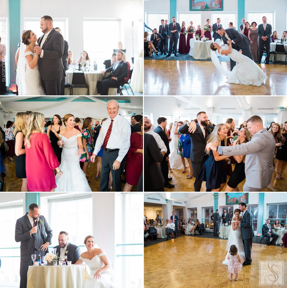 Maine wedding at Mariner's Church Banquet Center