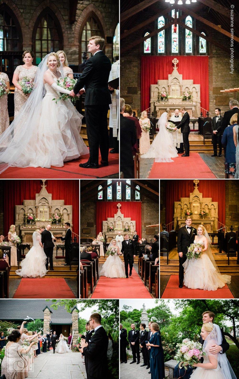 Wedding Ceremony at St Saviour's Episcopal Church