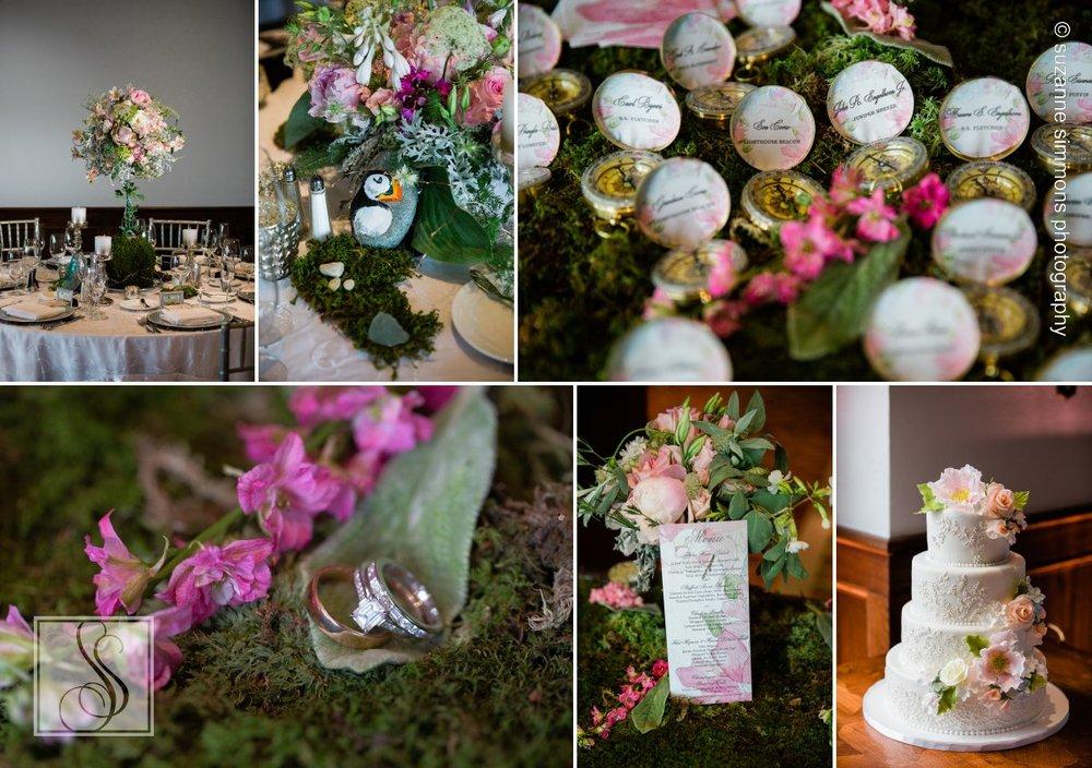 Wedding Details at the Bar Harbor Regency Stone House