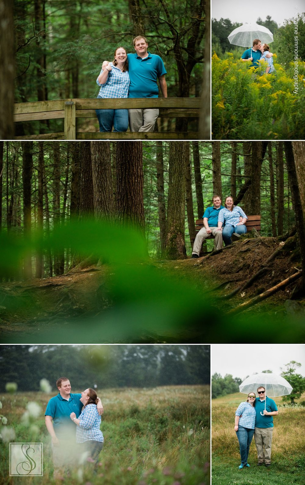 Fuller Farm Scarborough Maine Engagement Portraits