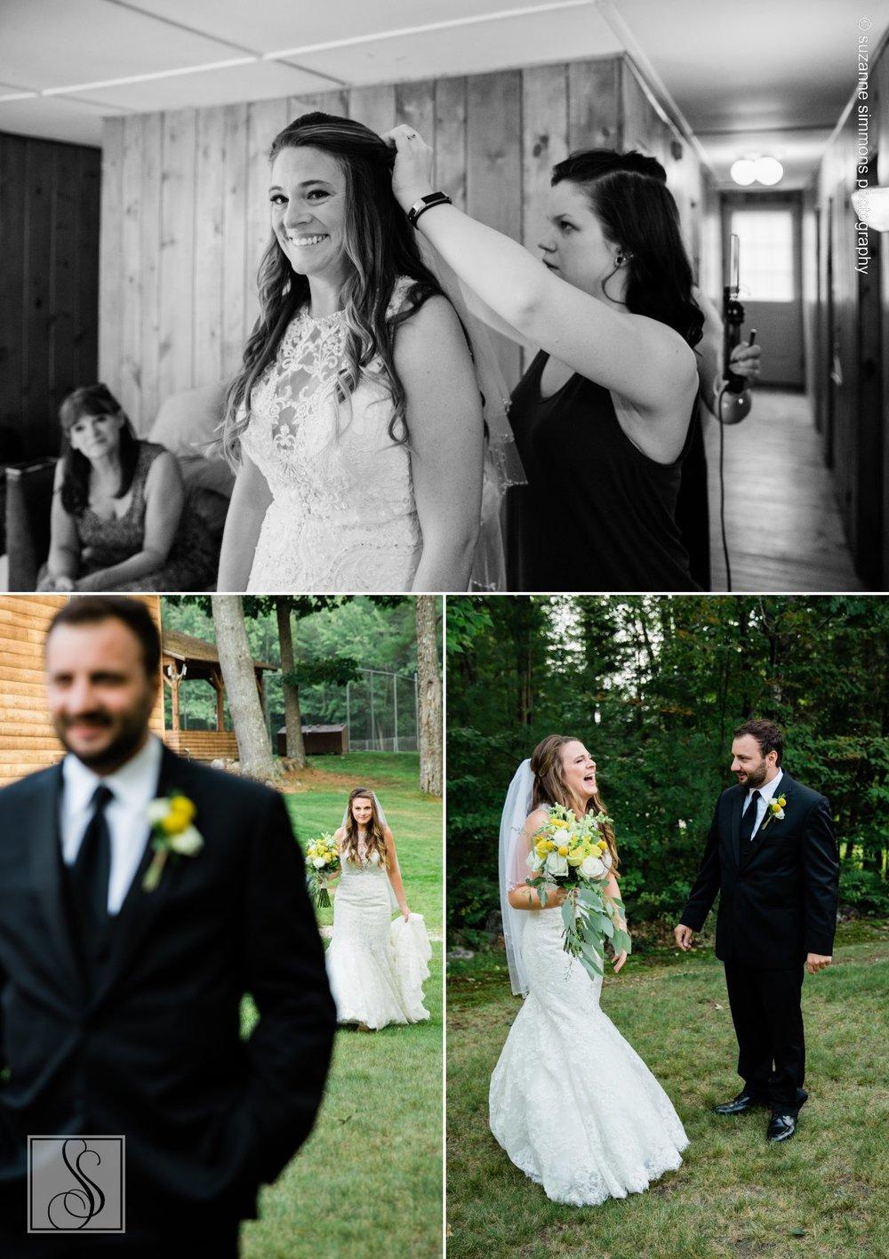 Wedding preparations at Camp Wildwood