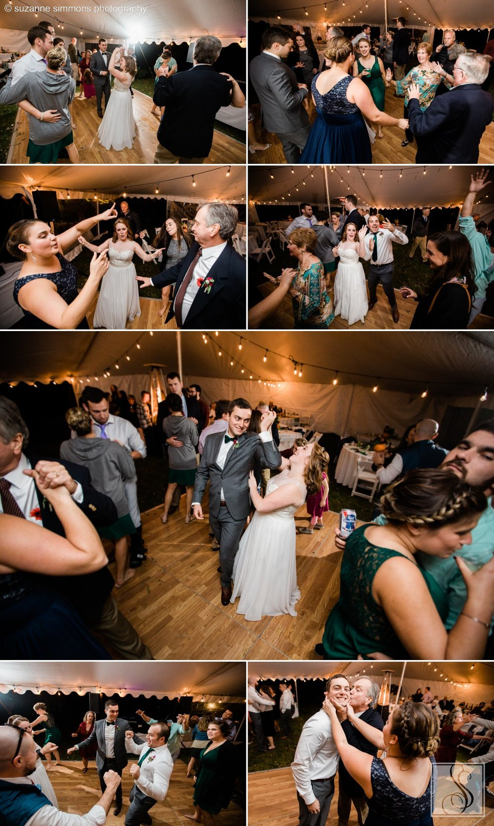 Maine wedding dance floor