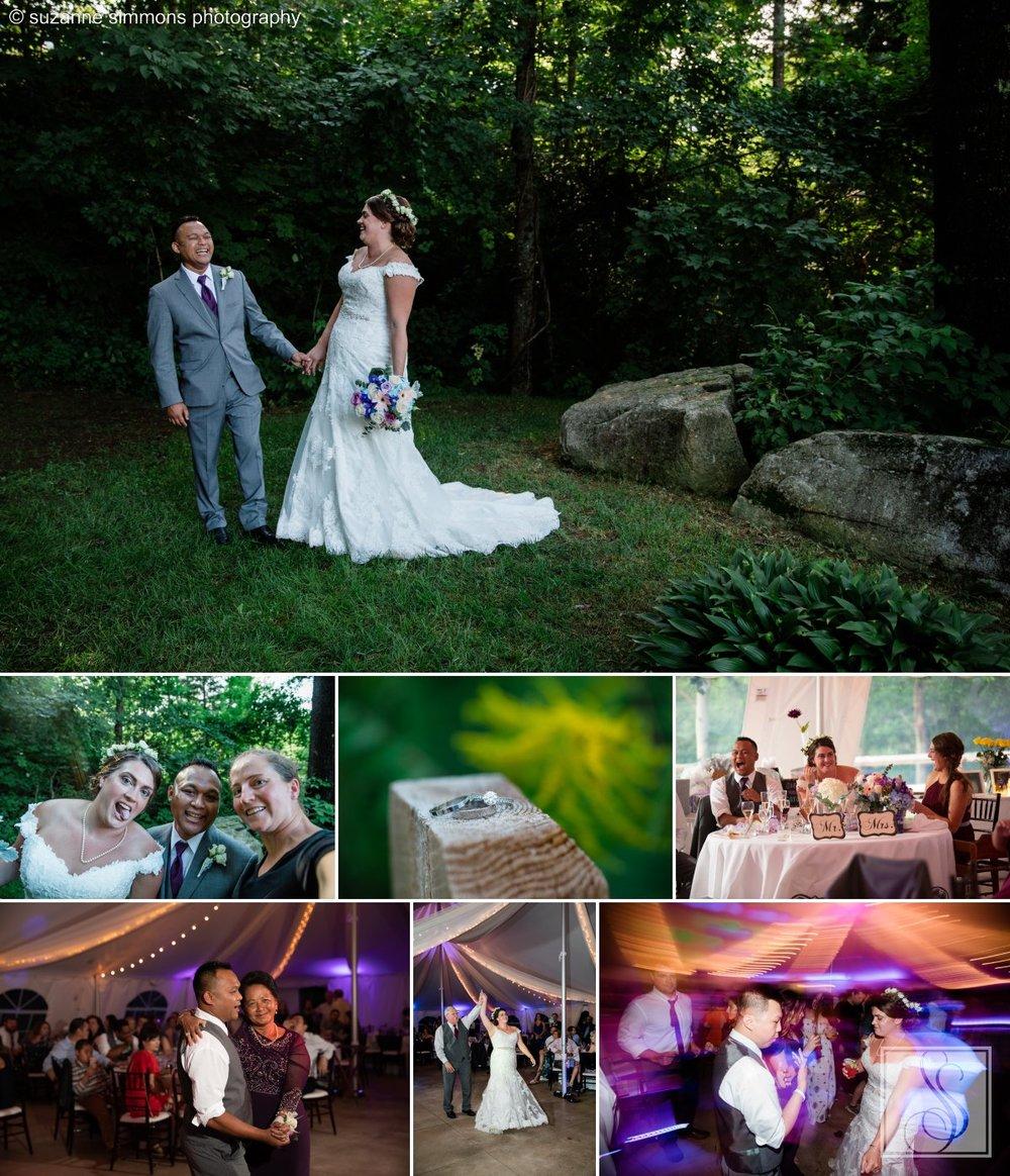 Wedding Reception in Jackson, New Hampshire