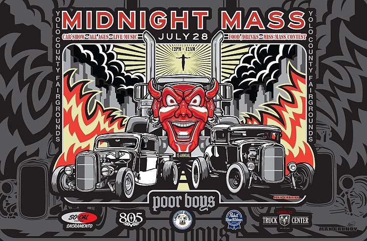 Midnight Mass Lets Go Rockabilly - Car show in sacramento this weekend
