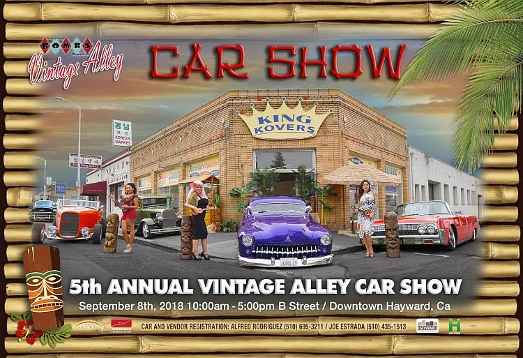 Th Annual Vintage Alley Car Show Lets Go Rockabilly - September car shows