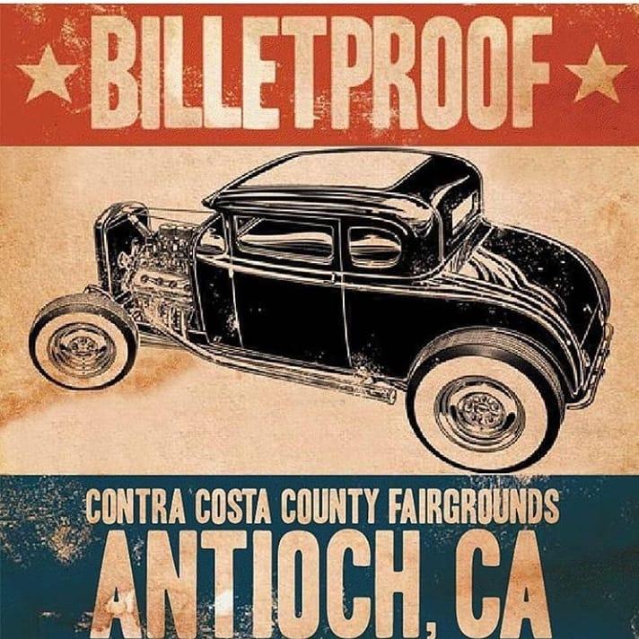 Billetproof Lets Go Rockabilly - Antioch ca car show 2018