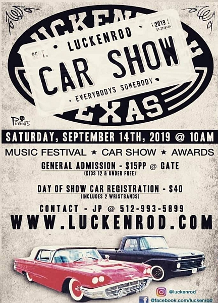 LuckenRod Classic Car & Rod Show 2019 — Let's Go Rockabilly!