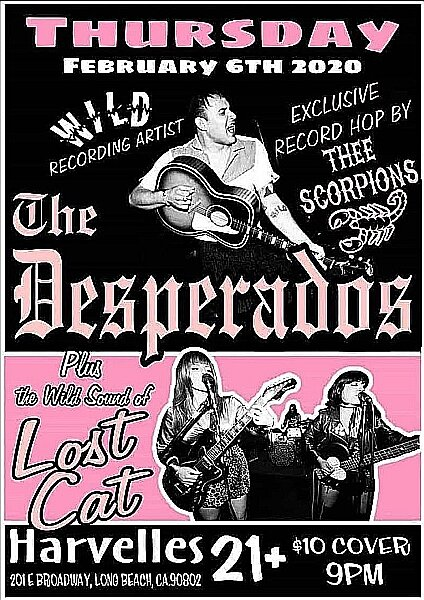 The Desperados Let S Go Rockabilly