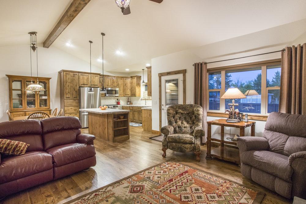 Open Concept Ranch Floor Plan