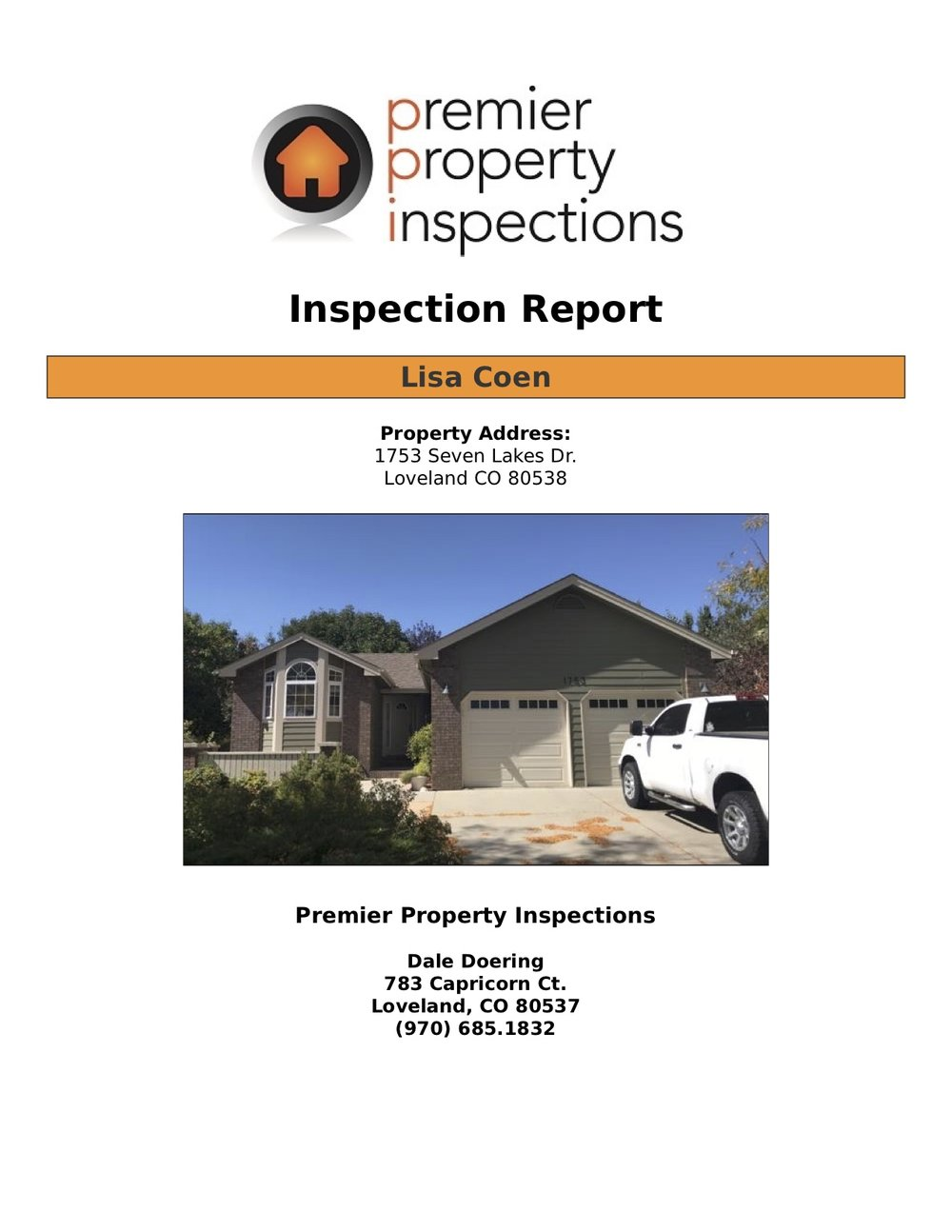 Pre-Inspection -