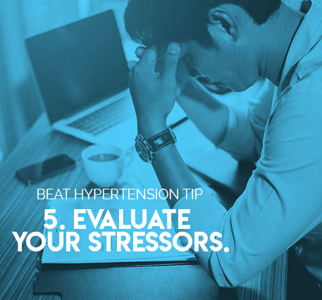 5. Evaluate your stressors